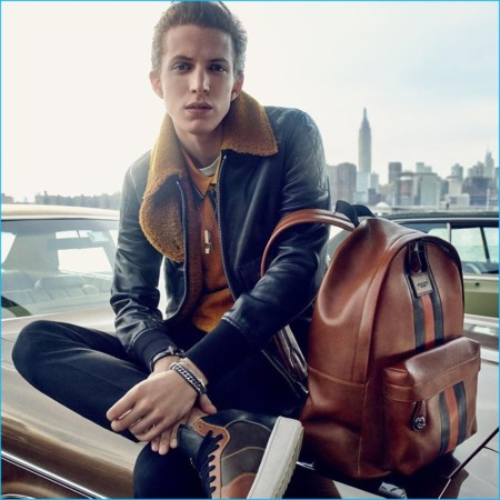 Coach 2016 Fall Winter Mens Campaign Xavier Buestel
