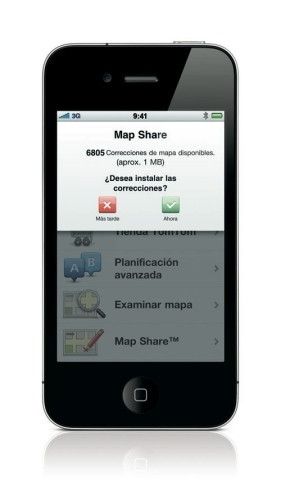 Mapshare españa iPhone