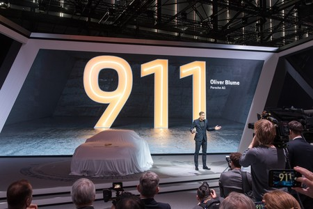 Porsche 911 Ginebra
