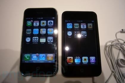 Primeras imágenes del iPod Touch Vs. iPhone