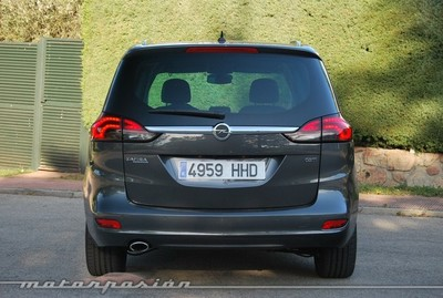 Opel Zafira Tourer 2.0 CDTI, prueba (valoración y ficha técnica)