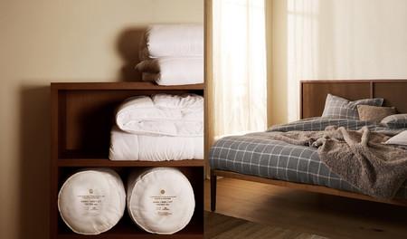 Fundas nórdicas, rellenos, colchas y mantas de Zara Home con interesantes descuentos ideales para actualizar los dormitorios