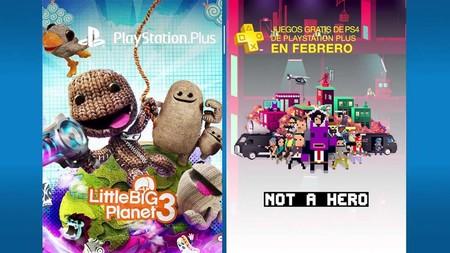 LittleBigPlanet 3 y Not a Hero serán los juegos de PS Plus de febrero