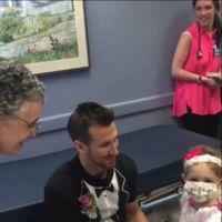Una madre le organiza una boda simbólica a su hija de cuatro años con leucemia