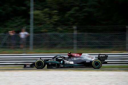 Valtteri Bottas se reivindica chafándole el plan a Lewis Hamilton para salir primero en la clasificación al sprint