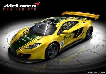 McLaren MP4-12C GTR