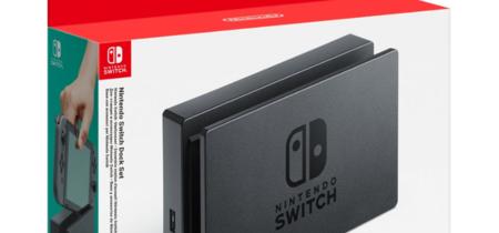 El dock de Switch se podrá comprar por separado el 23 de junio