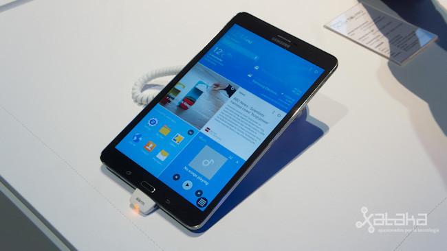 Samsung Galaxy Tab Pro, toma de contacto