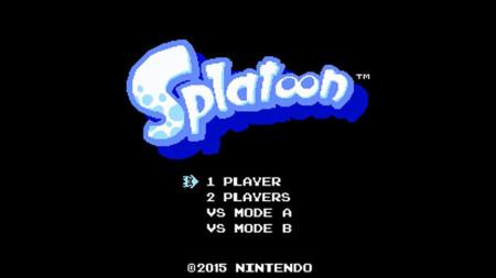 El fenómeno de Splatoon continua y ya hasta juego de 8 bits tiene
