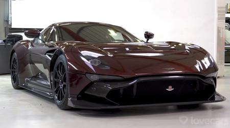 El único Aston Martin Vulcan de calle, en detalle