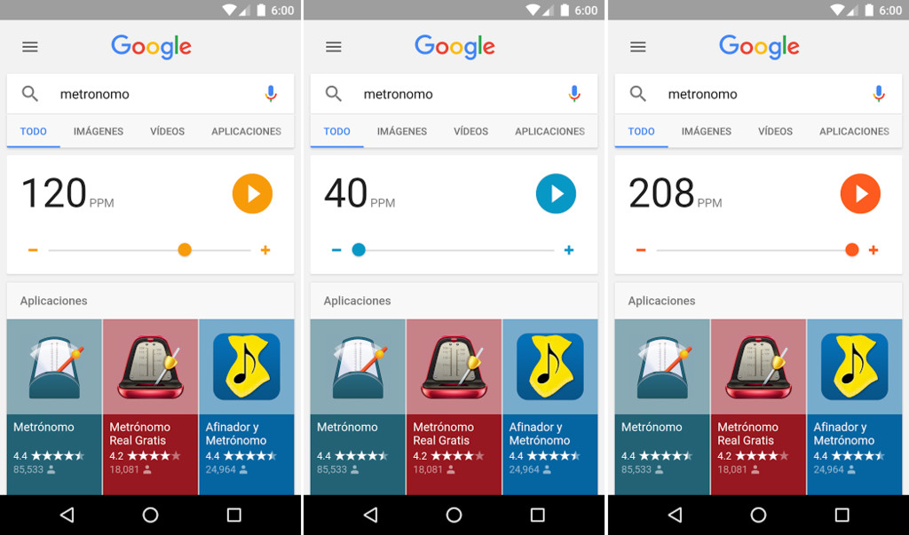 Metronome Google