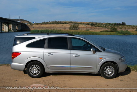 SsangYong Rodius 270Xdi AWD automático, prueba (parte 3)
