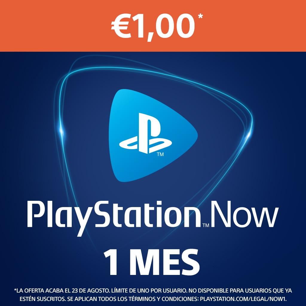 PlayStation Now: suscripción de 1 mes