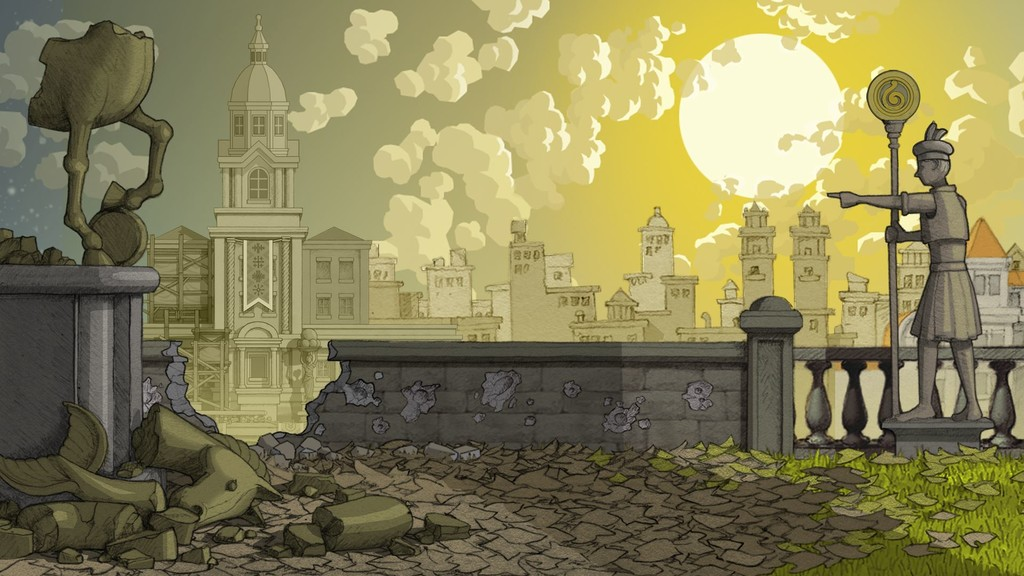 Una imagen del videojuego 'Gorogoa'.