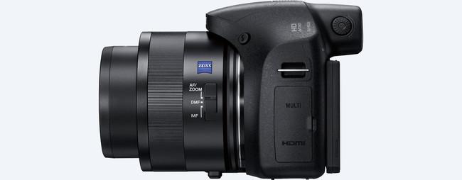 Sony apuesta por un poderoso zoom de 50 aumentos en su nueva compacta HX350