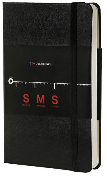 Moleskine SMS Notebook: preparada para lanzar mensajes por el aire