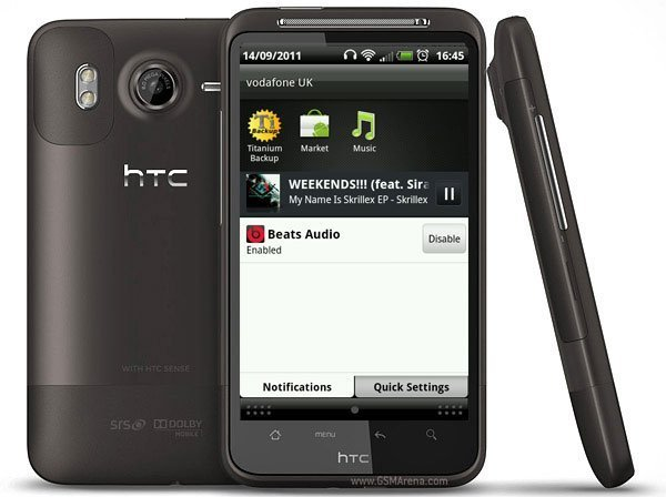 HTC Desire HD con Beats