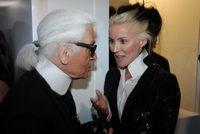 Lagerfeld celebra un fiesta en Selfridges para presentar sus colecciones low cost