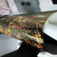 LG se trae al CES 2016 un panel OLED que se puede enrollar como un periódico