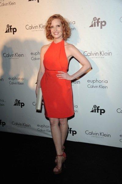 Jessica Chastain Cannes Calvin Klein