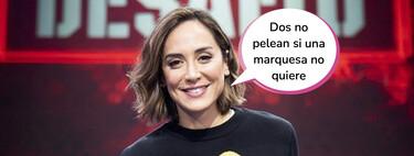 """Tamara Falcó confiesa haber tenido malos rollos con una concursante de 'El Desafío': """"No me saludaba por los pasillos"""""""