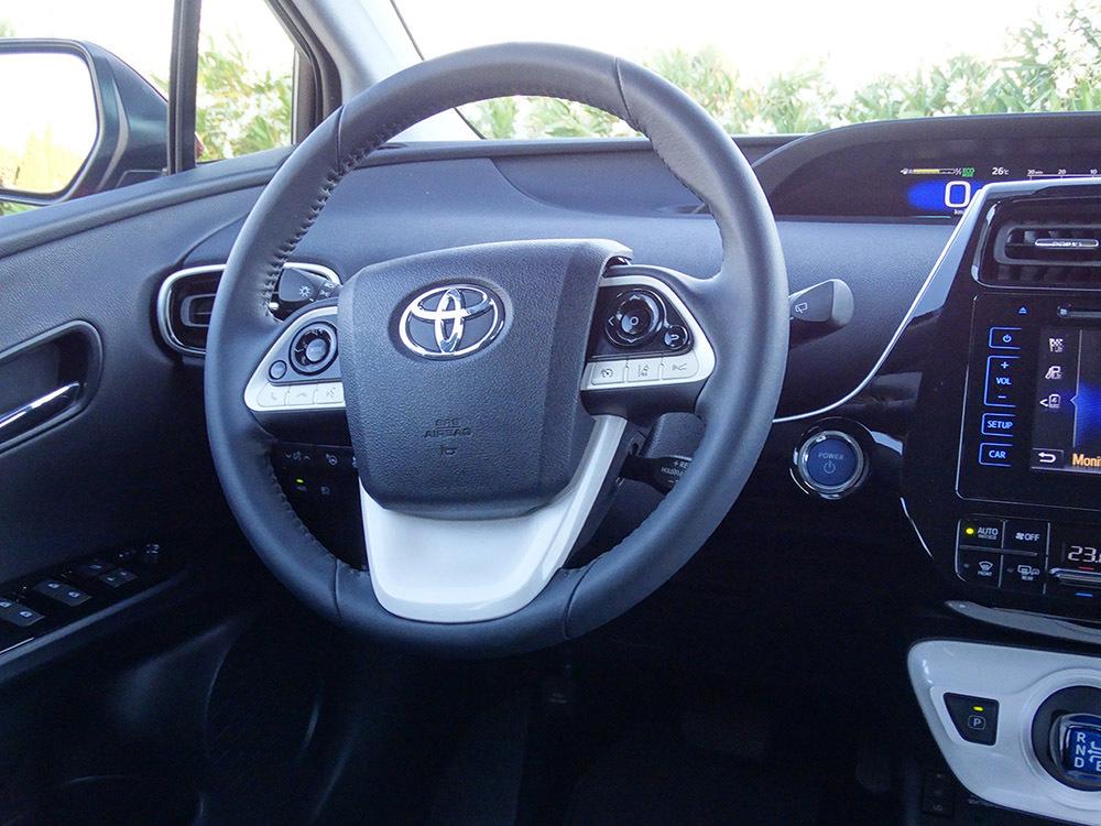 Foto de Prueba Toyota Prius 2016 interiores (2/39)