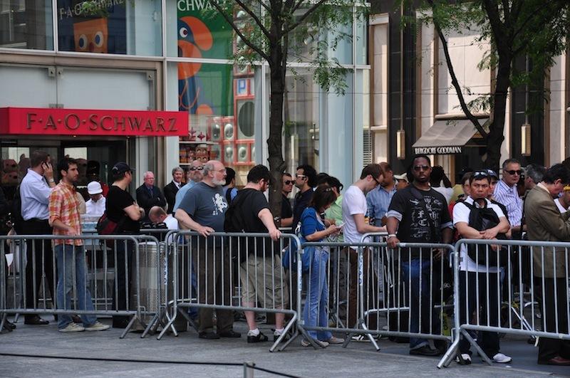 Foto de Lanzamiento iPhone 4 en Nueva York (35/45)