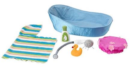 Bañera de juguete en Ikea: al agua muñecas