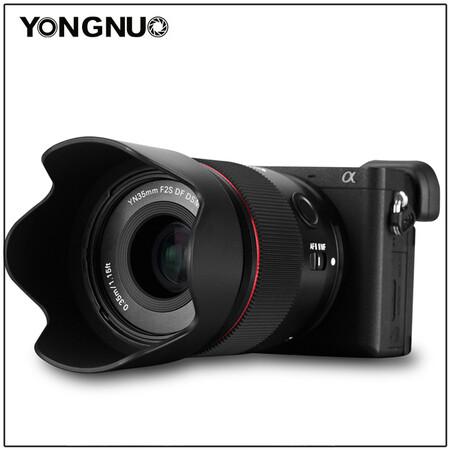 objetivo yongnuo para sony