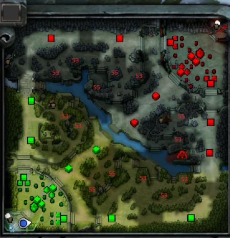 Dota 2 Mapa