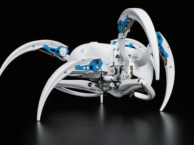 Esta impresionante araña robot es capaz de rodar y tiene todo para ser la protagonista de nuestras pesadillas