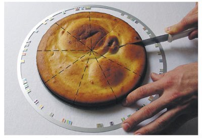 Cortador de tartas perfecto