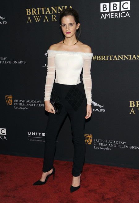 Emma Watson Balenciaga Bafta