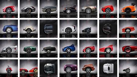 ¿Serías capaz de reconocer estos coches solo con ver la parte delantera y la trasera?