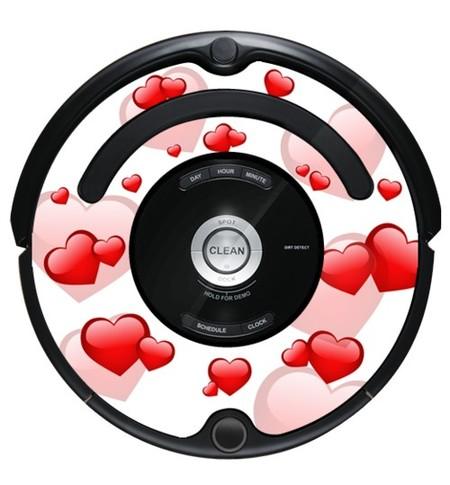 Personaliza tu Roomba con las nuevas pegatinas iDress, también para San Valentín