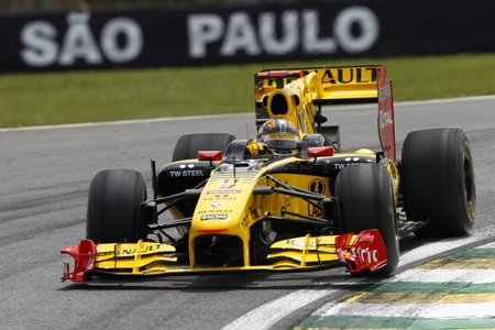 Robert Kubica en Interlagos 2010