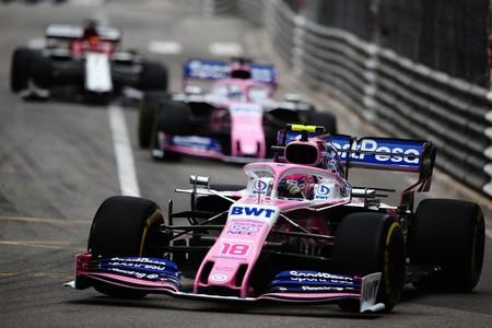 Stroll Perez Formula 1 Monaco 2019