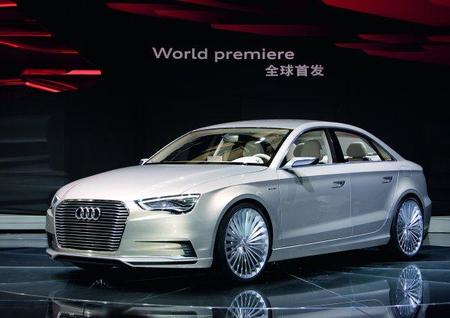 Audi presenta el A3 e-tron concept en Shanghai