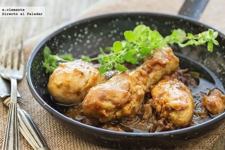 Receta fácil de pollo guisado con Coca-Cola, con solo cuatro ingredientes