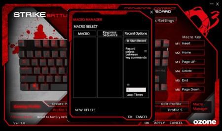 Programa de definición de macros de teclado para Windows