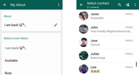 Los antiguos estados de WhatsApp ya están de regreso... por ahora en la beta de la aplicación