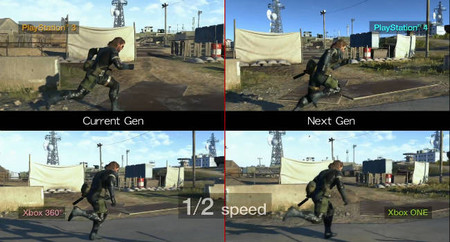 MGSV Ground Zeroes - vídeo comparativo ¿cuál versión se ve mejor?
