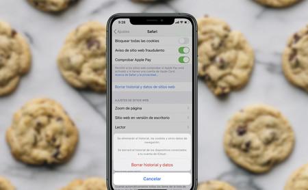 Cómo borrar todas las cookies y datos de uso de un móvil