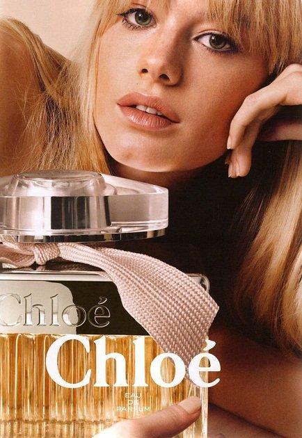 Chloé y su nueva publicidad: ¡viva la inspiración Twiggy!