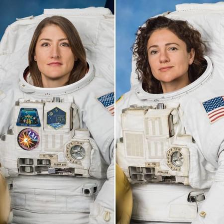 Christina Koch y Jessica Meir ya son las dos primeras astronautas en realizar un paseo espacial solo de mujeres (y puedes seguirlo en directo)