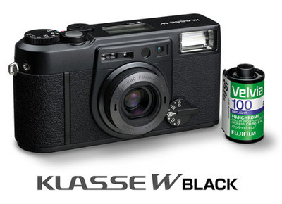 Klasse W Black, cámara analógica de Fuji