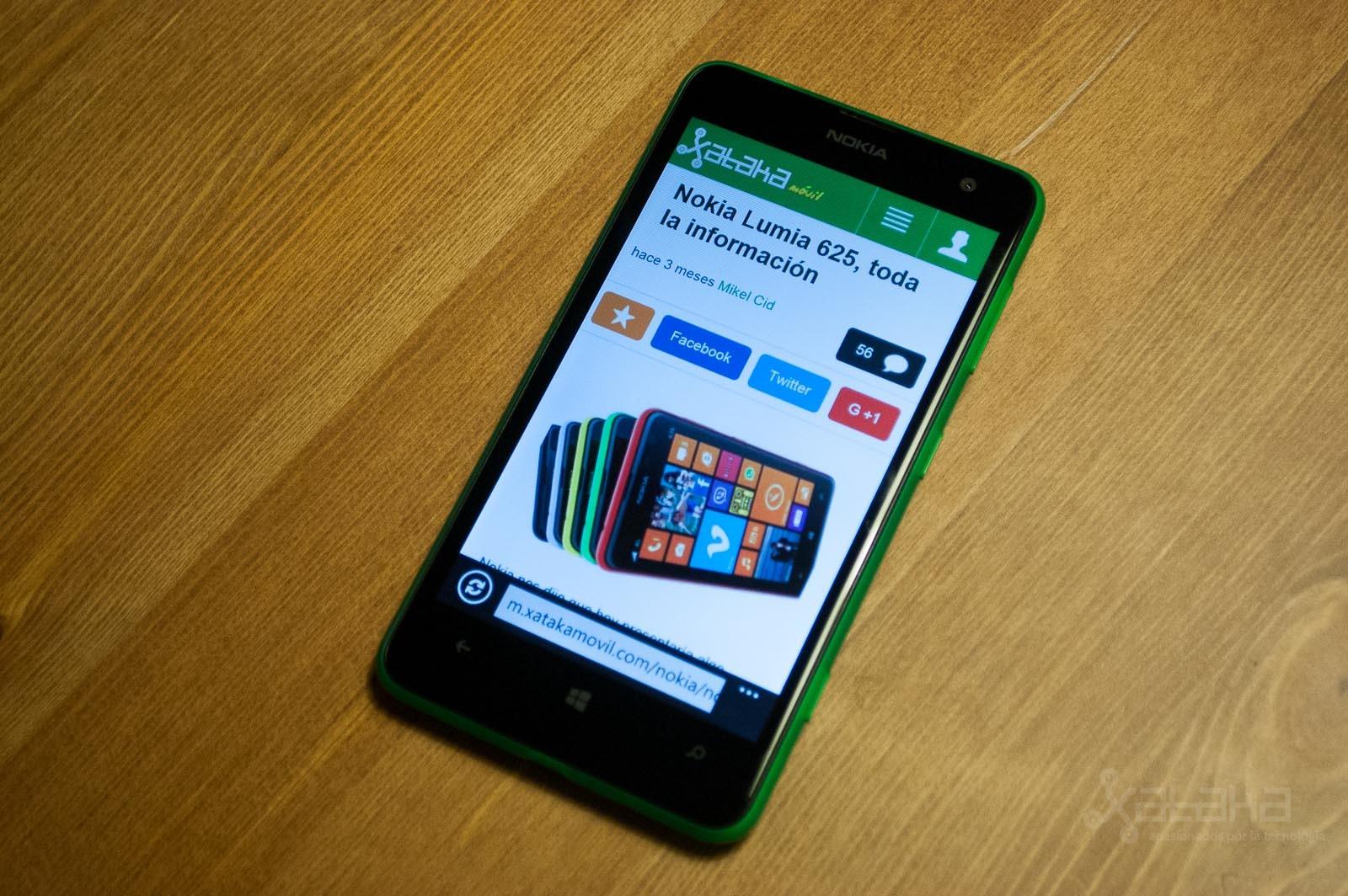 Foto de Nokia Lumia 625, análisis (9/10)