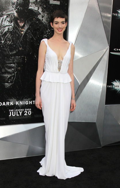 Anne Hathaway looks