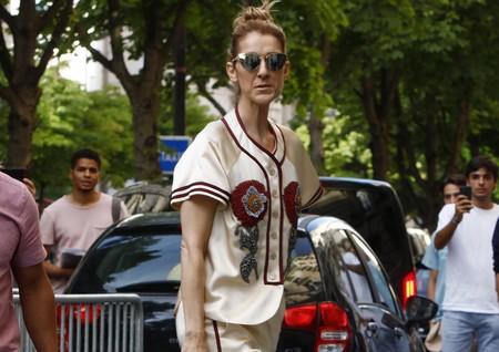 Continúa el Célinaissance, el renacimiento del estilo de Céline Dion con este look en París