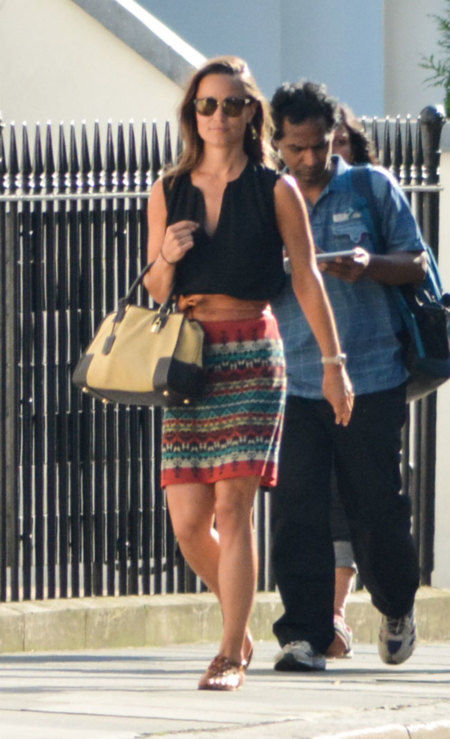 Pippa Middleton Look calle